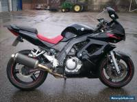 SUZUKI SV 650 SK5 DAMAGED REPAIRABLE SUPER TWIN RACE TRACK BIKE