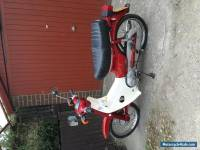 Honda Cub 90 very low mileage red/white mint condition