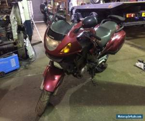 1999 HONDA NT650V DEAUVILLE RED **ACCIDENT DAMAGED** for Sale