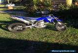 Yamaha WR250x Motard  2008 for Sale