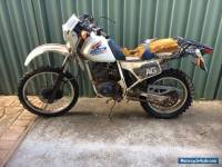 Honda XL250 87mdl. Would suit project custom tracker bobber or parts