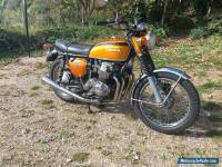 Honda CB750 Four K1, 1970, Candy Gold