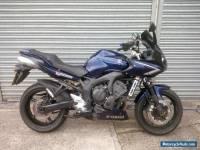 2008 YAMAHA FZ6 FAZER S2 BLUE - EX INSTRUCTOR BIKE, WELL MAINTAINED 99,000 MILES