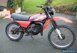 1980 YAMAHA  DT125 MX Frame number 2A8 - 104382  UNREGISTERED WITHOUT V5C   for Sale