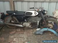 Honda C200 restoration project all original with old V5 log book