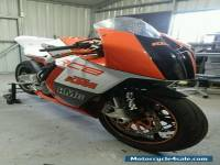 KTM RC8 1190 V-TWIN race track bike