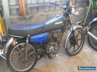Kawasaki KH100 (1986 I think).  Unregistered