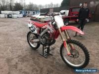 2006 Honda Crf 250 Twin Pipe Motocross Bike