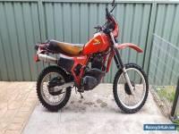 Honda XL500 XR500 82mdl