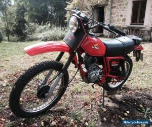 1981 Honda XR125, classic very rare, French logbook, find another! Blue chip! for Sale