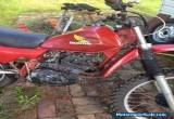 Honda XLR250 1982 Parts - Running for Sale