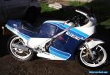 SUZUKI RG250 MK3 GAMMA  BLUE/WHITE 1986 for Sale