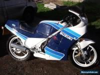 SUZUKI RG250 MK3 GAMMA  BLUE/WHITE 1986