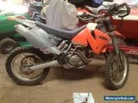 Motorbike KTM520 EXC 2001