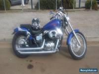 Honda VT750DC motorbike