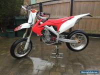 HONDA CRF 450 R SUPERMOTO 2011 ROAD LEGAL
