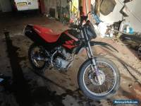 2005 55 HONDA XR 125 L-5 BLACK ENDURO ROAD BIKE LONG MOT RELIABLE COMMUTER