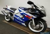 2002 SUZUKI GSXR 600 K1 **FREE UK Delivery** WHITE/BLUE for Sale