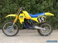 "1988 Suzuki RM125 ""Slingshot"" Motocross Bike"