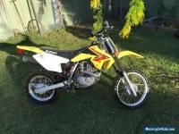 Suzuki drz125 motorcycle