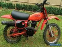 Honda XR80 1984 motorbike