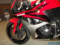 2007 HONDA CBR 600 RR-7 RED/BLACK