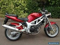 2002 SUZUKI SV 650 K1 RED -  Excellent Example 2662 miles