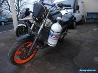 yamaha tdm 850 with massive nitrous express kit fitted nos nx
