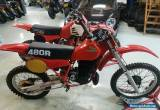 Honda CR 480 & Honda CR 250 - 1982 - Package deal !!! 2 bikes for Sale