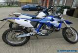 YAMAHA WR 400 F enduro off roader BLUE 2002 for Sale