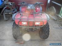 Quad bike Honda BIG RED 300. Near New Bear Claw tyres .