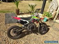 MOTOCROSS BIKE 150CC HONDA MOTOR DONE 30 KLMS