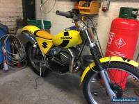 suzuki beamish rl 250 trials bike