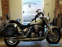 FANTASTIC EXCELLENT CONDITION 2008 YAMAHA XVS1300A MIDNIGHT STAR WITH PANNIERS