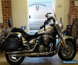 FANTASTIC EXCELLENT CONDITION 2008 YAMAHA XVS1300A MIDNIGHT STAR WITH PANNIERS for Sale
