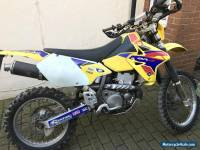 Suzuki drz 400, road legal enduro