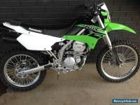 kawasaki klx 250 only 460 km. Heaps of extras. Learner legal