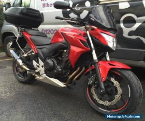 2013 HONDA CB 500 F-A **FREE UK Delivery** ABS RED for Sale