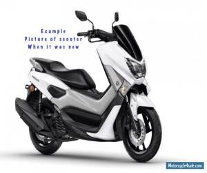 Yamaha N Max 125 Scooter 2015 low mileage Metallic White MOT Serviced for Sale
