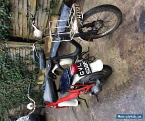 Little Honda P50 P25 Moped Classic rare scooter x2 nearly 1967 1968 for Sale