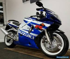 2002 SUZUKI GSX-R 600 K2 **FREE UK Delivery** WHITE/BLUE for Sale