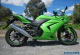 KAWASAKI NINJA 250 cc 2009 WITH UNDER 2000 Ks AS BRAND NEW for Sale