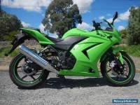 KAWASAKI NINJA 250 cc 2009 WITH UNDER 2000 Ks AS BRAND NEW