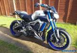 2015 YAMAHA MT - 09 ABS SILVER for Sale