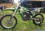 2004 KAWASAKI KX 250F  FULLY REBUILT MOTOR, EXCELLENT COND. Not CR YZ RMZ. MX for Sale