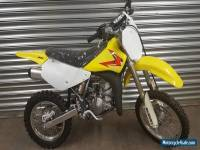 NEW SUZUKI RM85 SW 2012 OUT OF THE CRATE UN USED MX RM 85 SMALL WHEEL