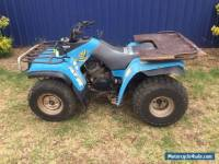 YAMAHA YFM 350 QUAD BIKE