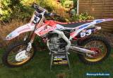 2016 Honda CRF450R Buildbase Special Edition  for Sale