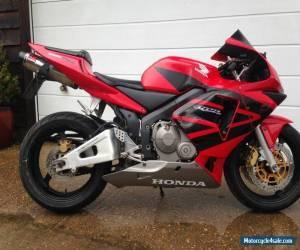 2003 HONDA CBR 600 RR-3 RED for Sale