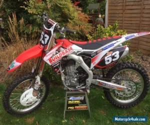 2016 Honda CRF450R Brand new.   for Sale